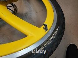 Porsche Spengle Wheels 20mm 26 BIKE FS Vintage Carbon fiber RARE