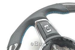 Promotion! Carbon Fiber Steering Wheel For VW Golf 7 GTI Golf 7R Golf 7 Rline
