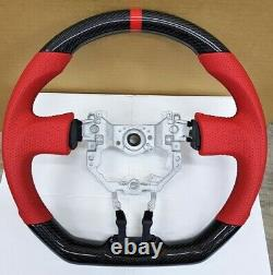 REVESOL Carbon Fiber RED EDITION Steering Wheel for 2013-2016 SCION FR-S GT86