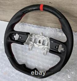 REVESOL Hydro-Dip Carbon Fiber Steering Wheel for 18+ JEEP WRANGLER JL GLADIATOR
