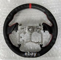 REVESOL Real Carbon Fiber -MATTE- Steering Wheel for 14-20 Toyota TUNDRA TACOMA