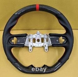 REVESOL Real Carbon Fiber Steering Wheel for 2018+ JEEP WRANGLER JL GLADIATOR