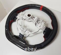 REVESOL Sports REAL Carbon Fiber Steering Wheel for 2013-2020 LEXUS IS IS250/350