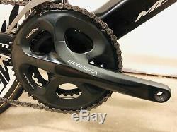 Rare Mercury Trident Tri Time Trial 56cm 90mm Carbon wheels Ultegra Dura Ace Mix