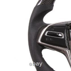 Real Carbon Fiber Smart LED Steering Wheel for Cadillac CT5 XT4 XT5 XT6 CTS XTS