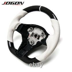 Replacement Car Carbon Fiber Steering Wheel For Tesla Model 3 2017- 2020 Model Y