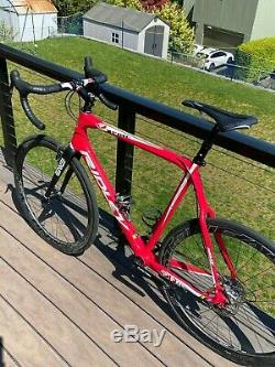 Ridley X-Fire gravel/cyclocross, SRAM Red, Easton EC90 SL Carbon Wheels & Crank