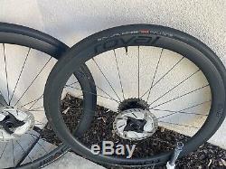 Roval Carbon C38 Wheels WithDisk Brakes, Tubeless Tires & CS-R8000 11spd Cassette