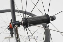 Roval Rapide CLX 40 Road Bicycle Wheelset 700c Diameter Carbon Fiber Rim Brake