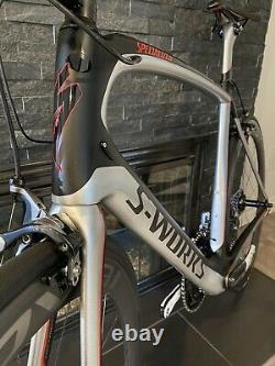 SUPER CLEAN S-Works Specialized Venge Aero Duraace Di2 58cm With Carbon CLX Wheels