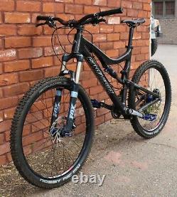 Santa Cruz Blur LTC Carbon Mtn Bike L Fox HOPE/Arch Wheels! X-0 XTR