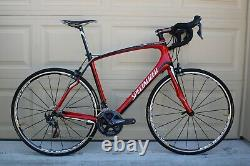 Specialized Roubaix EliteUltegra R8000 58cm -Gloss Red/Black 700C Mavic wheels