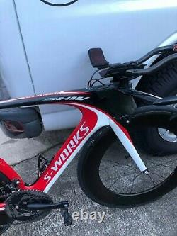 Specialized s-works shiv Quarq pwr meter tt bike nose cone med/lg no wheels