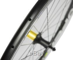 Superteam 50mm Carbon Wheels Ceramic R7 Hub Clincher Cycling Carbon Wheelset