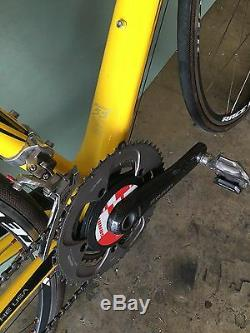TREK Livestrong Madone roadbike 5.5 handmade USA. Fi'zik seat, bontrager wheels
