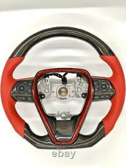 Toyota camry 2018 2019 XSE V6 Real Carbon fiber Steering wheel Toyota XV70 SE