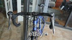 Trek 5000 carbon road bike with new wheels & Ultegra 47cm small frame