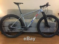 Trek Procaliber 9.8, Size 19.5 (Large) Matte Grey, XC Mountain Bike, 29 Wheels