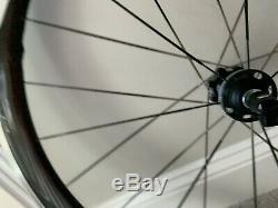 Ultegra RS81 C50 Carbon Alloy Clincher Shimano Aero Wheelset with QR Rim Brake