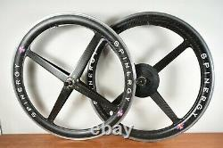 Vintage 26 Spinergy Rev X Roks Carbon Fiber MTB Mountain Bike Wheelset Wheels