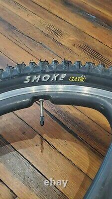 Vintage GT Team RTS Mountain Bike 90s MTB XTR Spin Carbon Wheels + Extras