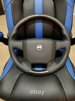 Volvo VNL 780 730 670 Steering wheel Customized Real Carbon Fiber and Leather
