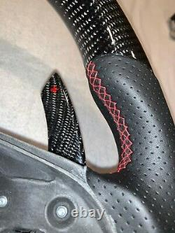 W204, W212 C-E Class Custom Carbon Fiber Steering Wheel (With Paddle Shifters)