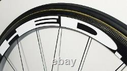 Williams 40mm Carbon Tubular Wheels 700c For Campagnolo Vittoria Tires HED Decal