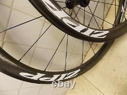 Zipp 303 Firecrest Carbon Fiber Clincher Road Wheelset Wheels Shimano Sram