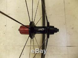 Zipp 404 Firecrest Carbon Fiber Clincher Road Wheelset Wheels Shimano Sram