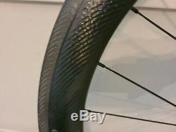 Zipp 404 NSW Carbon Clincher Wheel Set with QR skewers & Bag (Shimano/SRAM hub)