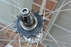Zipp 808 Track/Fixie Single Speed Rear Wheel 700c Tubular Rim Brake